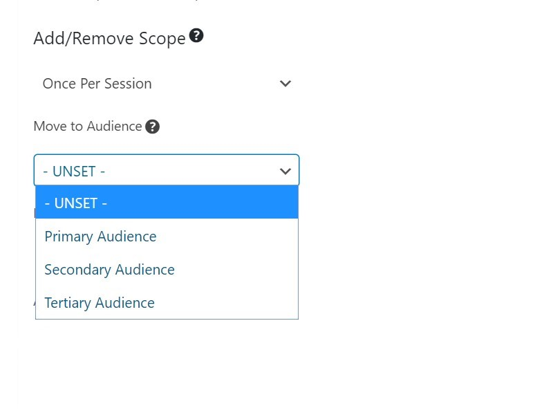 WordPress Event Tracking and Audience Segmenting Plugin