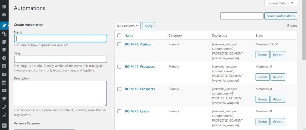 WordPress Marketing Automation Plugin