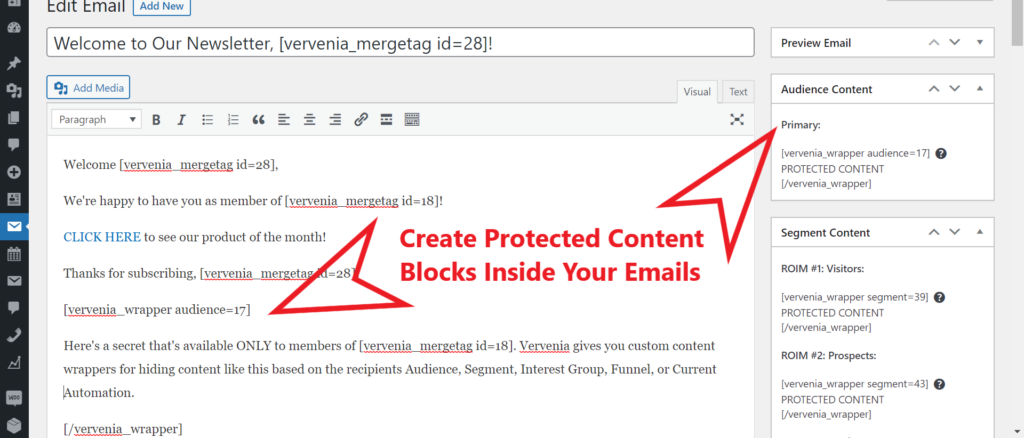 WordPress Email Marketing Plugin With Personalized Content