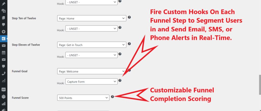 WordPress Marketing Funnel Plugin