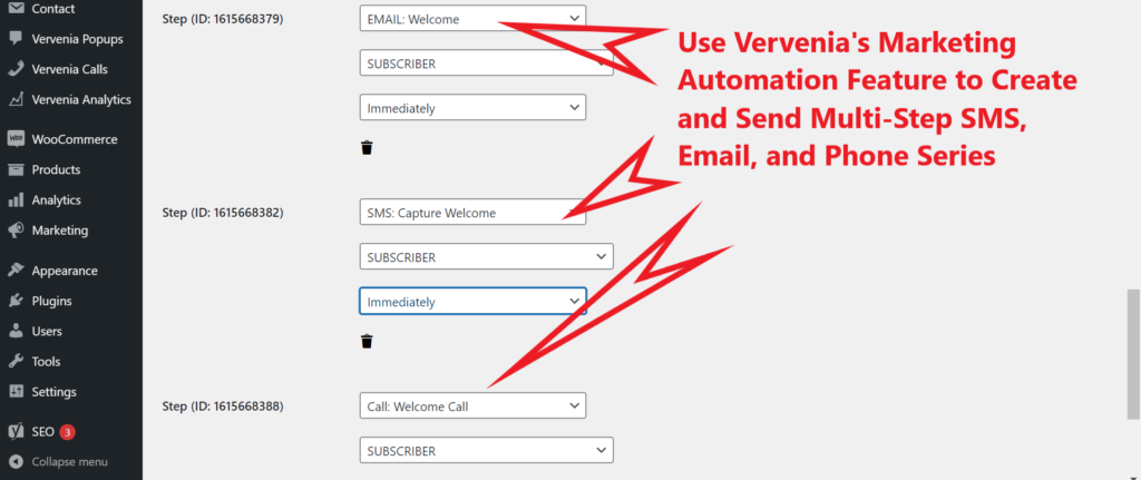 WordPress SMS Automation Plugin