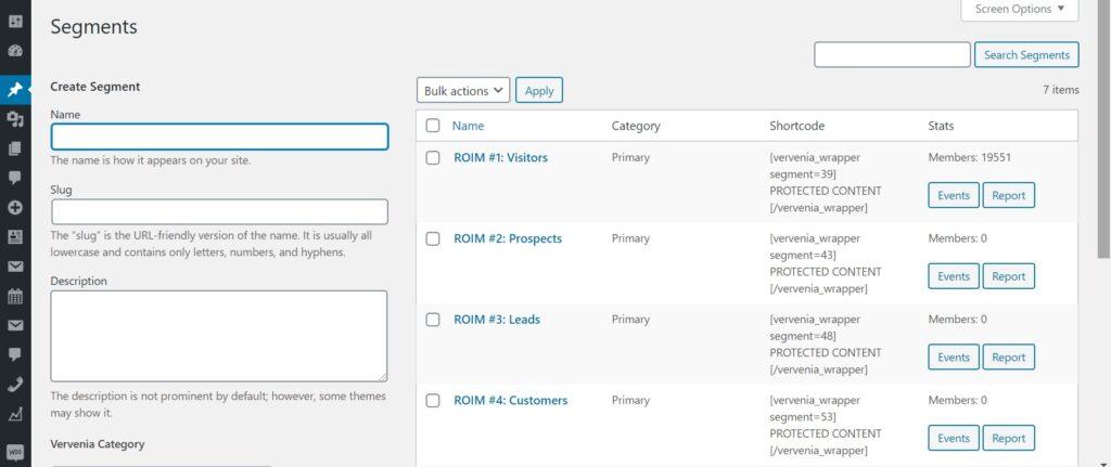 WordPress Buyer's Journey Segmenting Plugin